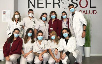 Nefrosol Salud consigue el certificado de gestión medioambiental AENOR